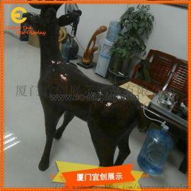 仿真玻璃钢动物雕塑造型    **摆件  展览