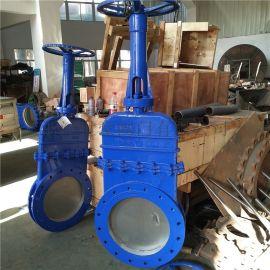 污水处理阀,暗杆刀型闸阀(DN600)阀门生产厂家