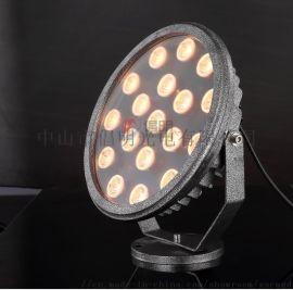 公园广场LED投光灯,七彩投射灯照树灯,柱子聚光灯