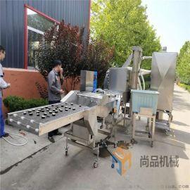 藕条上浆机厂家 藕条裹粉机 全自动藕条油炸机