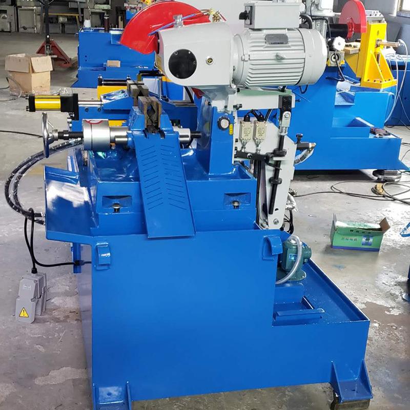 不锈钢管材切割机器数控全自动送料油压切管机