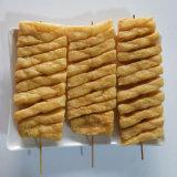 蘭花串 薯片塔油炸加工設備 豆皮 豆腐油炸機