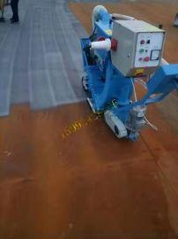 供应青岛万浩机械通过式抛丸清理机,角铁抛丸除锈机