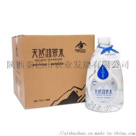 秦巴山天然沏茶水 整箱大瓶 金顶泉3.6L*4桶