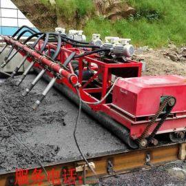 混凝土三辊轴配蛟龙摊铺机 56米水泥路面排震一体机