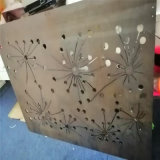碧桂园门头雕刻铝单板 珠宝店隔断雕刻铝单板