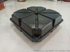 混凝土填充塑料模盒空心楼盖