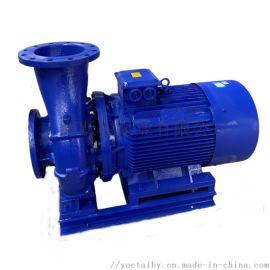 上海跃泰泵业ISW型卧式管道离心泵