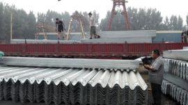 高强度碳钢桥梁护栏 高速防撞护栏 护栏立柱批
