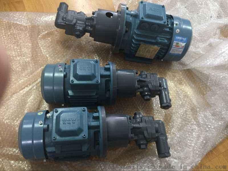 濾油機油泵KF63RF齒輪泵新鄉