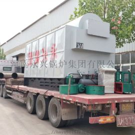 河南永兴锅炉集团供应6吨卧式生物质热水锅炉