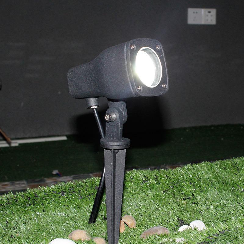 地插灯 照树灯防水插地灯花园景观灯led投射灯