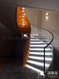 杭州旋转钢结构楼梯厂家