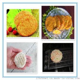 新型鸡米花上粉机器 肉制品粘粉 流水线