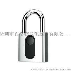 BioLock 指纹挂锁安全室内外防水防盗指纹挂锁