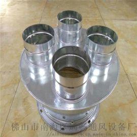 南庄不锈钢风管厂家精心制造螺旋风管配件