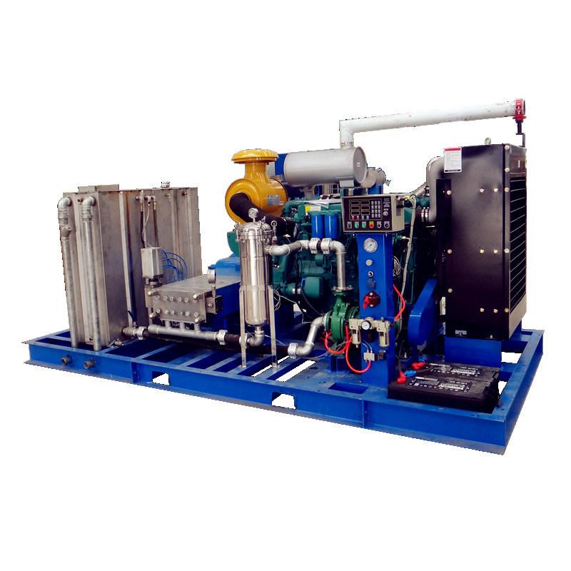河南電廠換熱器高壓清洗機 電廠換熱器管道疏通機