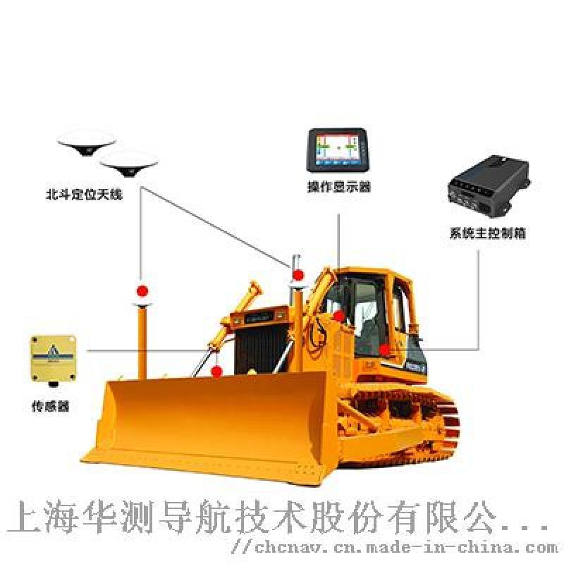 TD63推土机无桩化施工引导系统_华测施工引导系统