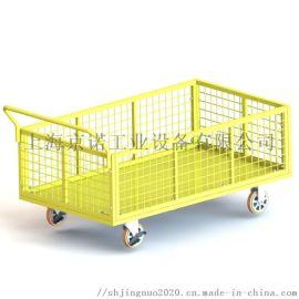 網架車 拆卸式網格圍欄手推車 周轉籠