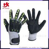 廠家直銷特種機械手套防割防撞機械手套