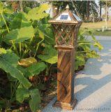 歐式復古太陽能草坪燈觀照明燈具防水防壓