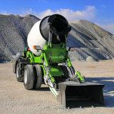道路建设自上料搅拌车 大型混凝土搅拌泵车