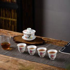 随手礼品陶瓷茶具 景德镇茶具套装