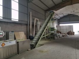 制造猫砂设备的厂家小型500KG入门级猫砂生产线