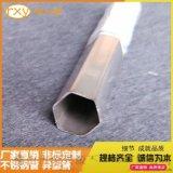 304不锈钢焊接六角管,不锈钢六角异形管