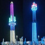 公園旋轉飛行塔35米跳樓機大型戶外遊樂場遊樂設備