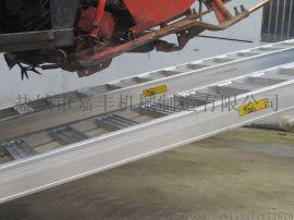 加强款5吨铝合金爬梯久保田沃得收割机上下车铝梯