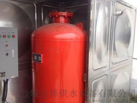 不锈钢水箱可满足生活及消防使用
