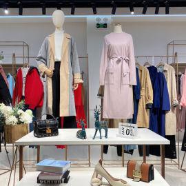 欧米提品牌专柜双面尼羊绒大衣品牌折扣女装走份