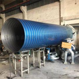 订制工业除尘螺旋通风管道排风304不锈钢螺旋风管
