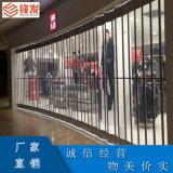 惠州锋发商铺隔断水晶门手动水晶堆积门大量供货