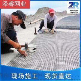 玻纤土工格栅,玻璃纤维格栅 护坡堤坝土工格栅