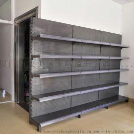 厦门金属超市货架多层洞洞板货架福建陈列储存架
