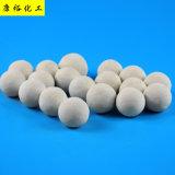 厂家直销17%AL2O3 惰性氧化铝瓷球填料