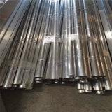 背景墙铝合金竹管 隔断金属铝圆管定制