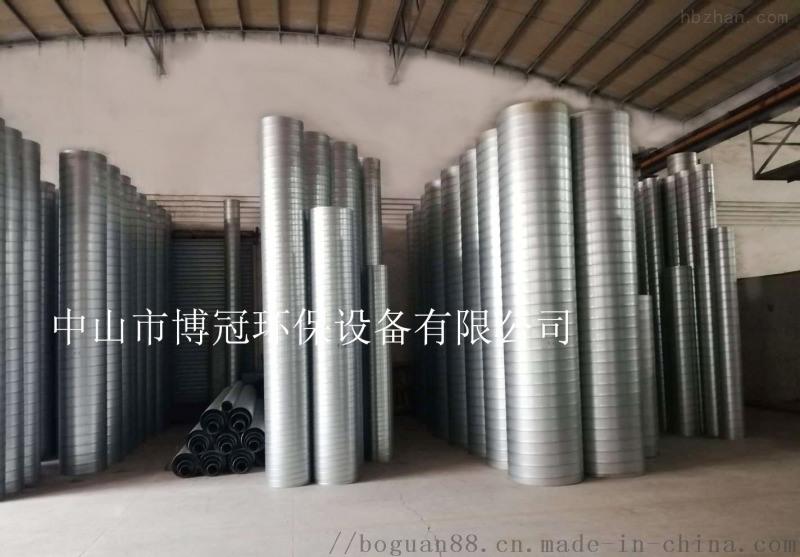 螺旋风管 镀锌板风管 不锈钢风管