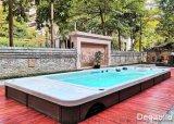戴高乐无边际泳池,优质亚克力户外游泳池