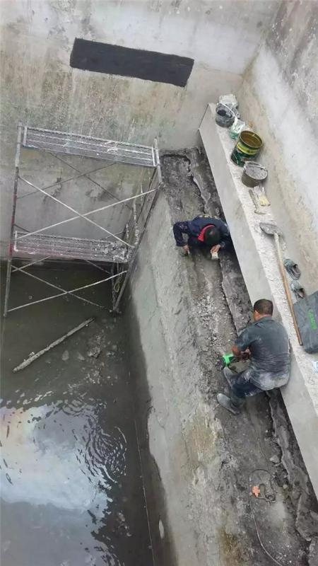 煙臺市小區車庫斷裂縫防滲漏施工技術
