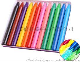 高品质塑料蜡笔涂鸦绘画蜡笔 油画棒