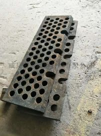 高锰钢筛板铸造锰钢漏板筛板 河北云盛篦板筛板