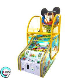 米奇篮球机 儿童投篮机 连线儿童投球机电玩设备