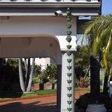 走廊凉亭用雨链 寺庙用排水雨链