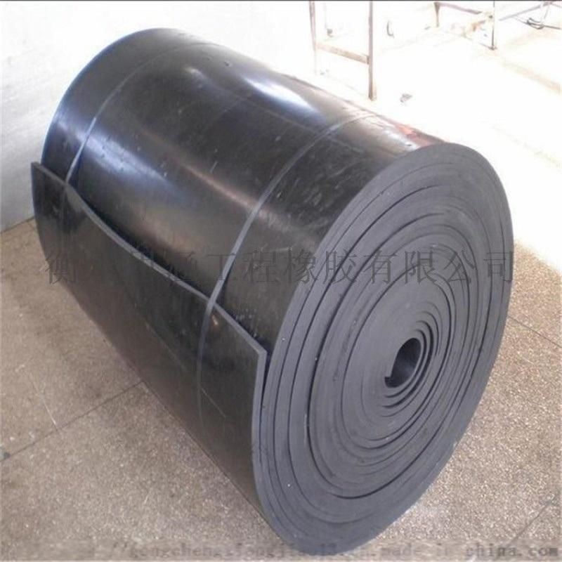 现货橡胶缓冲板 高弹性垫板泡沫套 国标弹性垫板