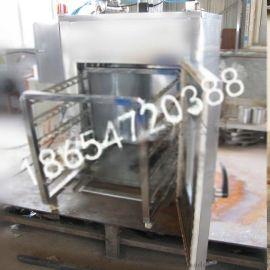 电加热多功能熏豆干机器不锈钢外置发烟效果好-熏鸡炉
