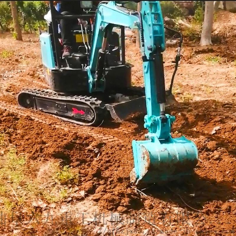市政電網工程 80挖掘機挖鬥 六九重工 農田灌溉開