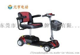 鹤岗厂家直销元亨电动老年折叠代步车 四轮电动代步车